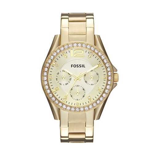 Ladies Riley Fossil Watch