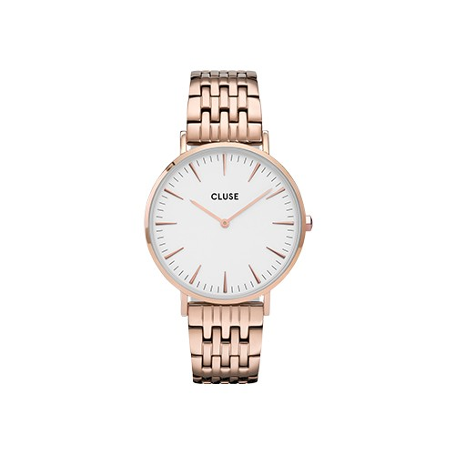 La Boheme Multi-Link Rose Gold